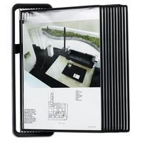 Демосистема настенная А4  10 панелей черного цвета Tarifold Veo