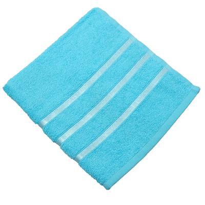 Полотенце махровое Belezza Орион 70х130 см 380 г/кв.м бирюзовое 5 штук в упаковке