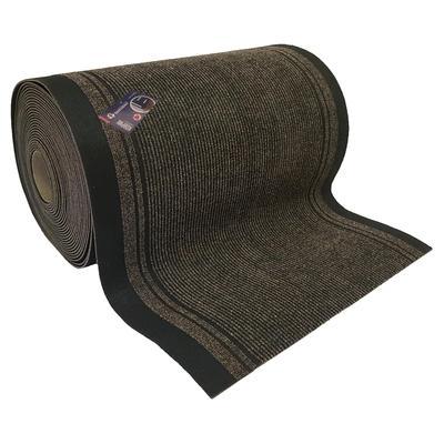 Коврик входной грязезащитный ворсовый дорожка 0,90х10м темно-коричн-черный