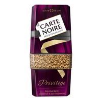 Кофе растворимый Carte Noire Privilege 95 г (стекло)