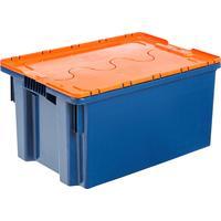 Ящик (лоток) универсальный из ПНД 600х400х300 мм оранжевый