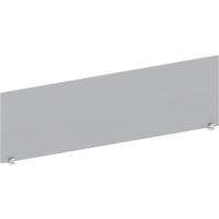 Экран к столу Easy Standard с креплением боковой (серый, 1600x18x450 мм)