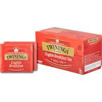 Чай Twinings English Breakfast Tea черный 25 пакетиков