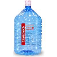 Бутилированная питьевая вода Семерикъ 19 л (одноразовая бутыль)