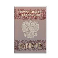 Обложка для паспорта ДПС из ПВХ прозрачная(2203.180.М)