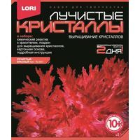 Набор для выращивания Lori Лучистые кристаллы Красный кристалл
