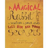 Тетрадь общая Kroyter Магический кролик А5 48 листов в клетку на скрепке (06173)