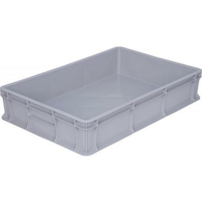 Ящик (лоток) универсальный из ПНД 600x400x120 мм серый