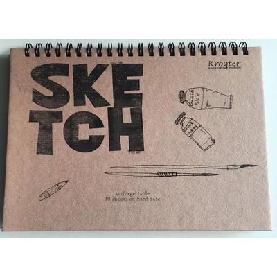 Альбом для рисования Kroyter Эко А5 30 листов