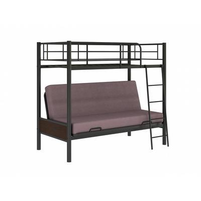 Кровать 2-ярусная Redford 203 черная (2035x990x1760 мм)