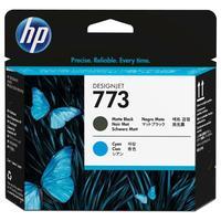Головка печатающая HP 773 C1Q20A матовая черная и голубая