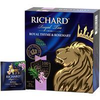 Чай Richard Royal Thyme & Rosemary черный 100 пакетиков