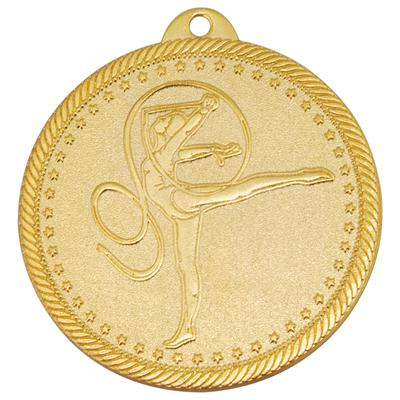 Медаль призовая 1 место Художественная гимнастика 50 мм