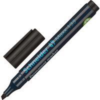 Маркер перманентный Schneider Maxx 133 черный (толщина линии 1-4 мм) скошенный наконечник