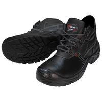 Ботинки утепленные Standart из натуральной/искусственной кожи черные размер 45
