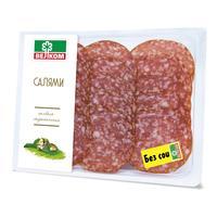 Колбаса Велком Салями сырокопченая нарезка 150 г