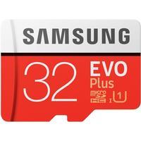 Карта памяти Samsung EVO PLUS microSDHC 32Гб Class 10(MB-MC32GA/RU)