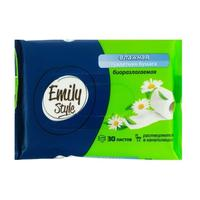 Бумага туалетная влажная Emily Style 30 листов в пачке