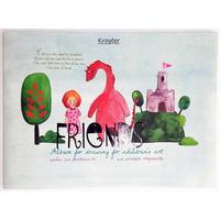 Альбом для рисования Kroyter Друзья А4 24 листа
