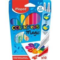 Фломастеры Maped Color'peps Magic 8 цветов+2 изменяющие цвет