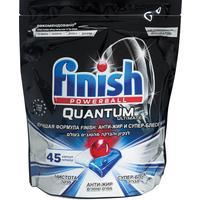 Таблетки для посудомоечных машин Finish Quantum Ultimate (45 штук в упаковке)