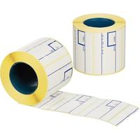 Термоэтикетка ЭКО 58x40 мм (диаметр втулки 40 мм, 50 рулонов в упаковке,  425 штук в рулоне)