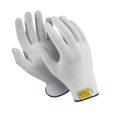 Перчатки рабочие  Manipula Микрон TNG-27/MG111 нейлон с ПВХ точка (15 класс, размер 8, М, 10 пар в упаковке)