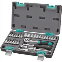 Набор инструмента Stels 29 предметов (1/4, CrV, пластиковый кейс, артикул поставщика 14100)