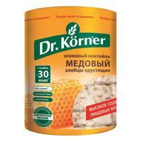 Хлебцы Dr.Korner Злаковый коктейль медовый пшеничные 100 г