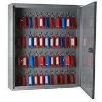 Шкаф для ключей Cobalt К-48 серый (на 48 ключей, металл)