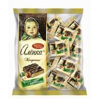 Конфеты шоколадные Красный Октябрь Аленка вафельные с фундуком 250 г