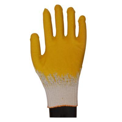 Перчатки рабочие трикотажные с двойной латексной заливкой