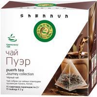 Чай Shennun Пу-эр черный 15 пакетиков