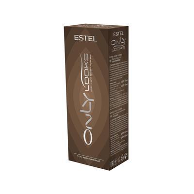 Краска для бровей и ресниц Estel Only Looks 80 мл коричневая
