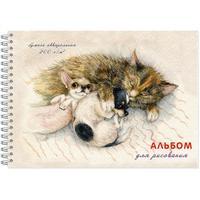Альбом для акварели Полином Спящие дружочки А4 20 листов
