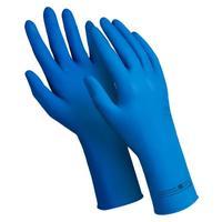 Перчатки КЩС  Manipula Эксперт Ультра DG-042 латекс синие (размер 9, L, 25 пар в упаковке)