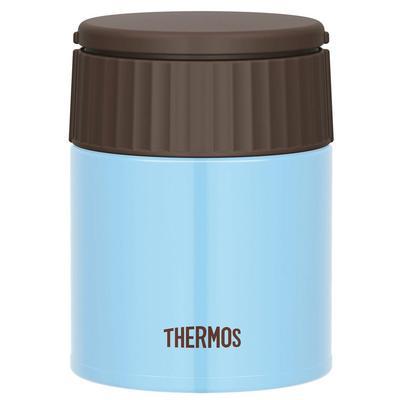 Термоконтейнер Thermos 400 мл голубой/коричневый