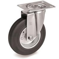 Колесо для тележки поворотное Tellure Rota 80 мм (535101)