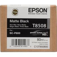 Картридж струйный Epson T8508 C13T850800 черный матовый оригинальный