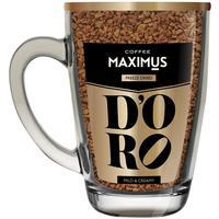 Кофе растворимый подарочный Maximus D'oro в кружке 70 г