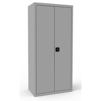 Шкаф для бумаг металлический ШРА-21 850.5 серый (850х500х1850 мм)