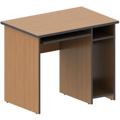 Стол компьютерный Агат правый (ольха, 900x600x750 мм)