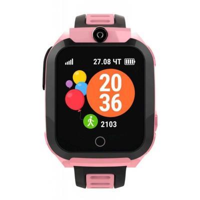 Смарт-часы детские Geozon BASIS pink розовые G-W08PNK