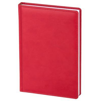 Ежедневник датированный 2022 год Attache Сиам искусственная кожа A5 180  листов красный (143x210 мм)