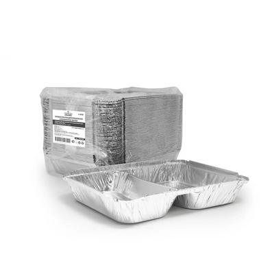 Форма алюминиевая прямоугольная Горница 410-001 840 мл (227x177x30 мм, 50 штук в упаковке)