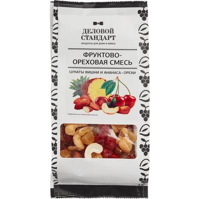 Коктейль Деловой Стандарт цукаты вишни и ананаса с орехами 200 г
