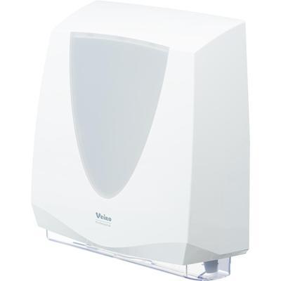 Диспенсер для листовых полотенец V/Z/W-сложения Veiro Professional Prima пластиковый белый