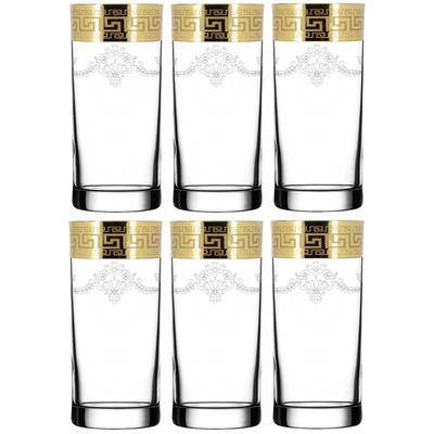 Набор стаканов для сока Барокко 290 мл (6 штук в упаковке)
