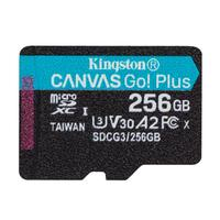 Карта памяти 256ГБ microSDXC Kingston Canvas Go! Plus Class 10 UHS-I (SDCG3/256GBSP)