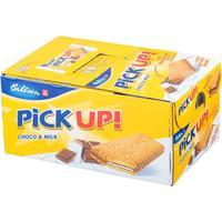 Печенье-сэндвич Leibniz Pick up! с плиткой молочного шоколада (24 штуки по 28 г)